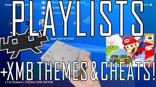 Playstation Classic | Playlists, Themes, Cheats and Thumbnails with RetroArch Beta