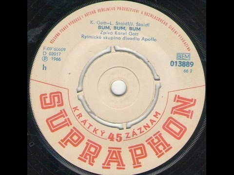 BUM, BUM, BUM (K. Gott) - 1966_Rip singel vinyl