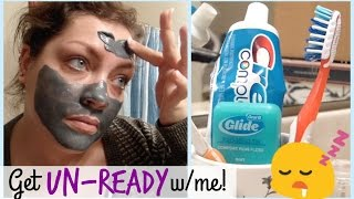 Get Un-Ready With Me | Nighttime Routine + Skincare (Acne Prone Skin)