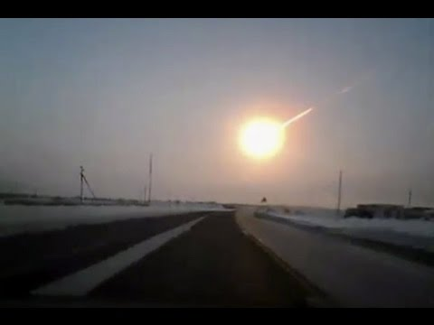 GIANT METEOR falling to Earth & a Large UFO existing the METEOR Sept 14 2016