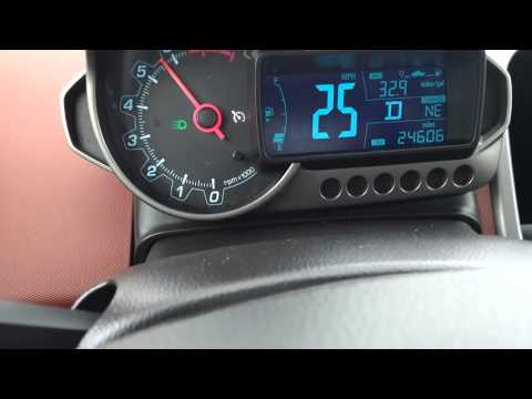 2015 chevy sonic 1.4L turbo 0 to 60 mph in 10 seconds