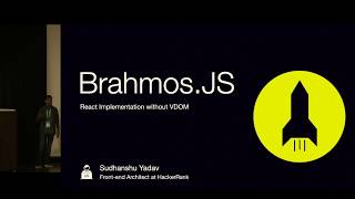 Brahmos.js: React without VDOM