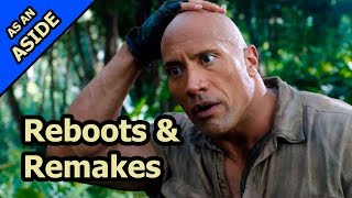Reboots And Remakes Why Hollywood Is Full Of Them Jumanji, Scarface, Tomb Raider etc