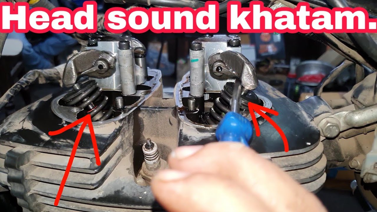 Royal Enfield engine sound problem | head sound khatam | NCR Motorcycles |