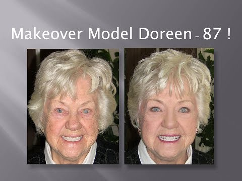 Makeover Model Doreen - 87! Fast, Easy & Oh So Chic