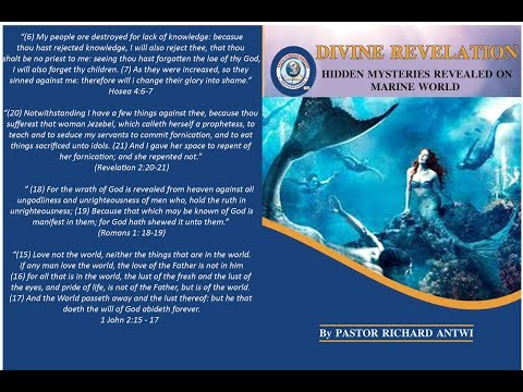 Marine World By Pastor Richard Antwi (English Version is in Book Form)
