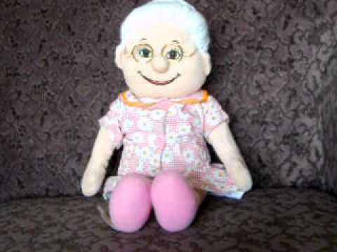 BA ABUELITA ROSA HISPANIC SINGING DOLL