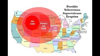 Yellowstone Super Volcano Could Explode With Devastating Hydrothermal Eruption - Prediction Maps