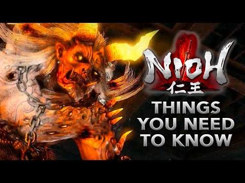 Nioh: 10 Things You NEED to KNOW