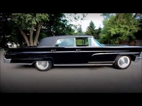 1960 Lincoln Continental Limousine From President Kennedy S Dc Motor