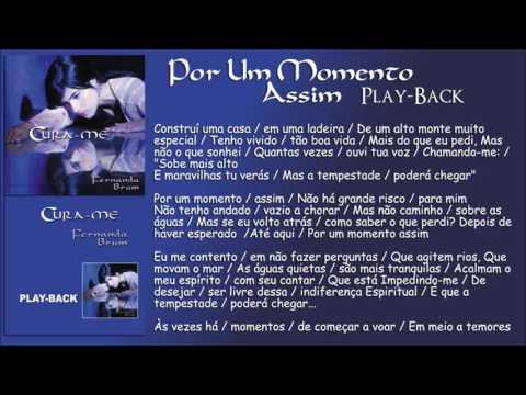 Por Um Momento Assim [Playback] Fernanda Brum - CD