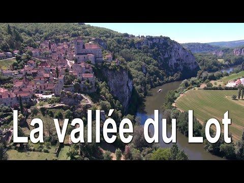 Drone Expert - La vallée du Lot de Calvignac à Cahors - Vue du ciel