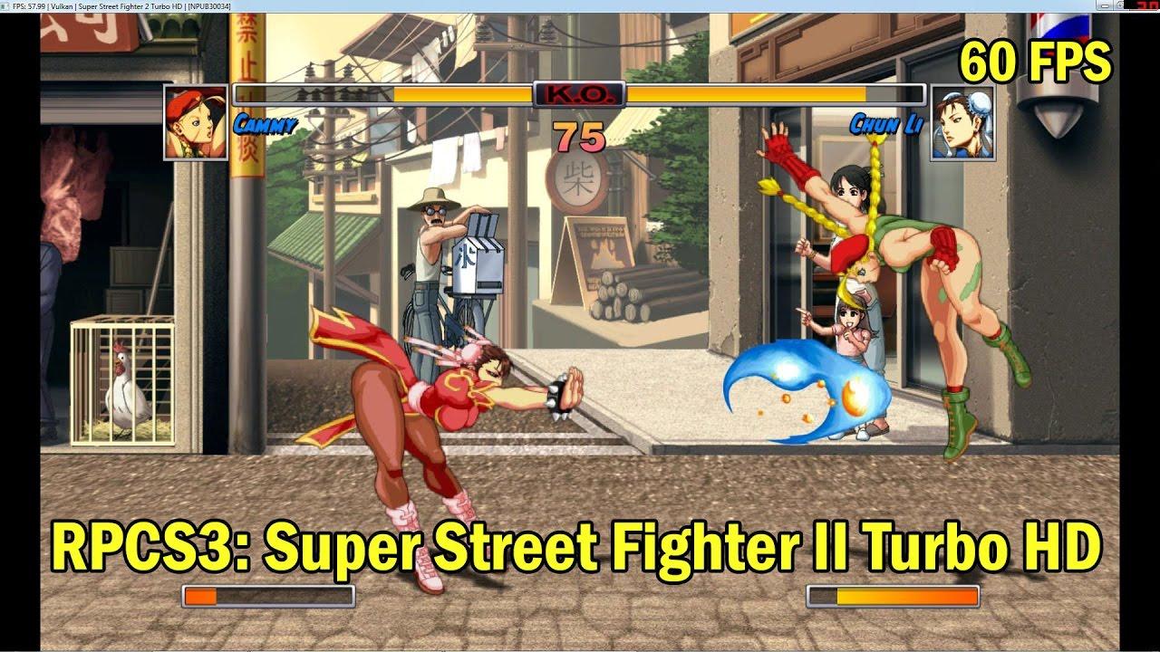 Super Street Fighter II Turbo HD (60FPS) [RPCS3 Emulator]