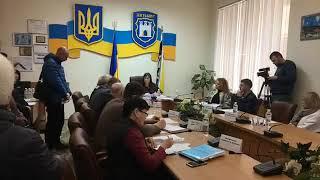 Противники будівництва АЗС на проспекті Незалежності, 29 прийшли на засідання виконкому