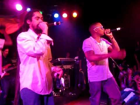 Nas & Damian Marley - Nah Mean @ The Roxy 5/20/10 (HQ)