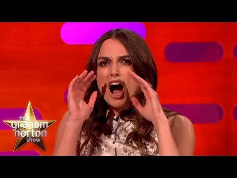 Keira Knightley Talks Sex Scenes - The Graham Norton Show