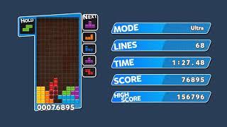 [TAS AI] Puyo Puyo Tetris (PC) Ultra - Zetris (All Spins Mod) 156k Score