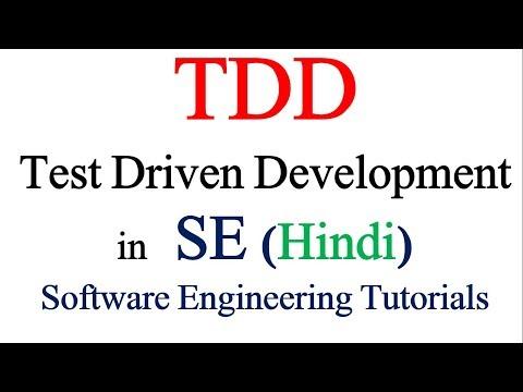 Test Driven Development in in Software Engineering | Software Engineering Tutorials