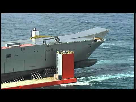 LHD arrival in Port Phillip Bay