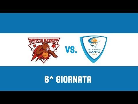 6^Giornata: The Flexx Pistoia-Red October Cantù 82-93