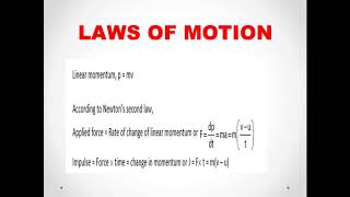 PART 1- PLUS ONE  PHYSICS CHAPTER WISE EQUATIONS