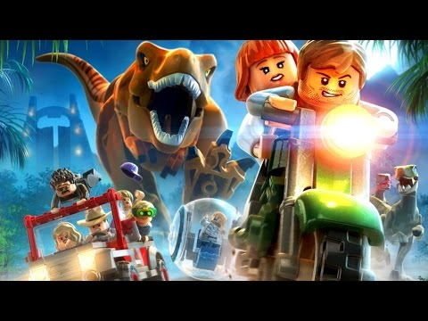 LEGO Jurassic World All Cutscenes (Game Movie) HD