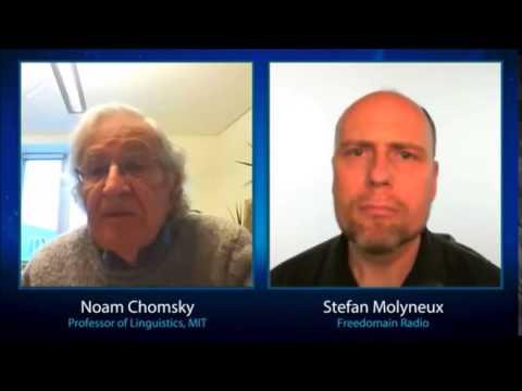 Noam Chomsky educates AnCap about Libertarianism