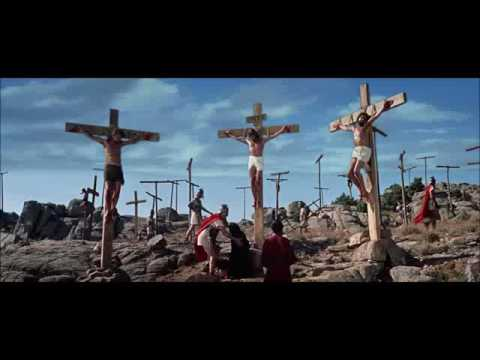 King of Kings 1961 Crucifixion Scene
