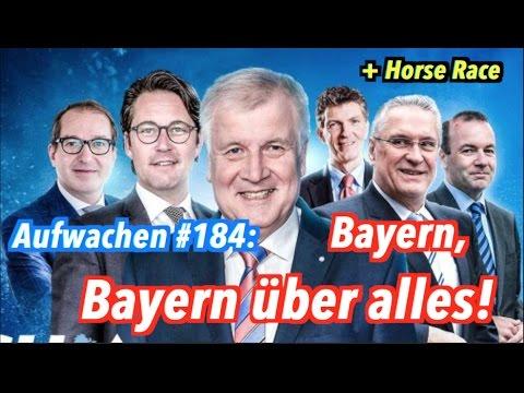 """Aufwachen #184: CSU-Aschermittwoch, Horse Race + Moritz Gathmann über """"Fake News"""" aus Russland"""