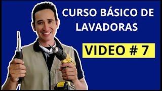 curso de lavadoras GRATIS video # 7 (para principiantes) Mi Lavadora no Centrifuga 2 razones