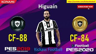 PES 2020 ALL 14 BLACK TO GOLD BALL PLAYERS OFFICIAL RATINGS! (MOBILE / PC)