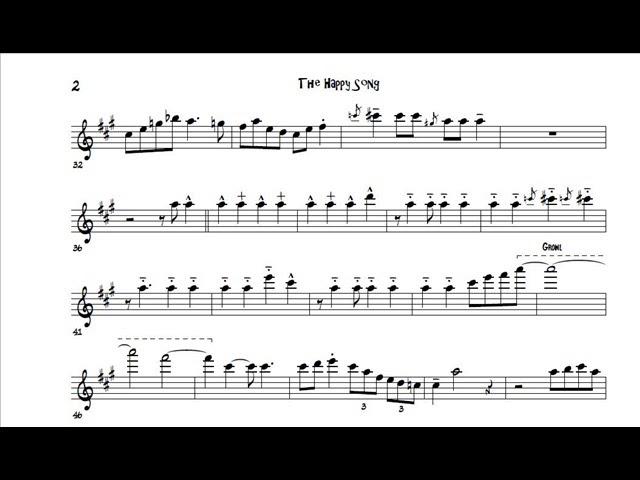 Roger Rosenberg's bari solo on