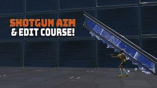 Shotgun Aim & Edit Course! - (Fortnite Battle Royale!)