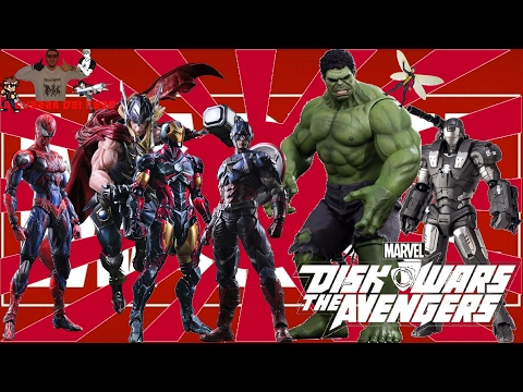 "Recensione Anime: ""MARVEL DISK WARS: THE AVENGERS"""