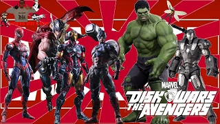"""Recensione Anime: """"MARVEL DISK WARS: THE AVENGERS"""""""