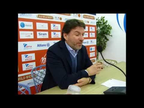 Alma-Orzinuovi 105-64, coach Alessandro Finelli