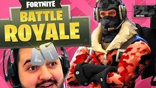 WE PLAY FOR THE FIRST TIME FORTNITE WITH EXPENSIVE SKINS!