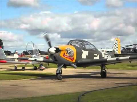 Focke Wulf Piaggio P.149 start up