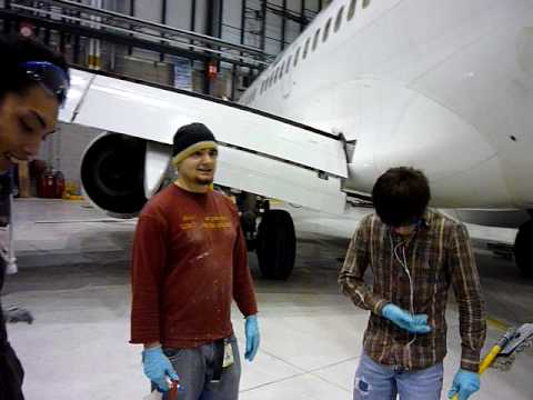 How We Dry Wash Comercial Aircraft Preview Youtube