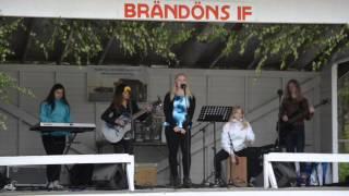"""Bandet Zebra """"Från och med du"""", Brändöns midsommarfirande 2014"""