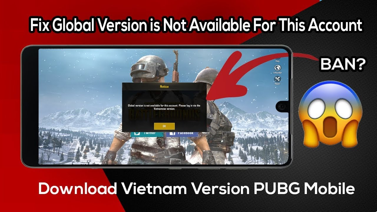 How to Download Vietnam Version PUBG Mobile || Recover banned account ||  Global vr  UNG GAMES