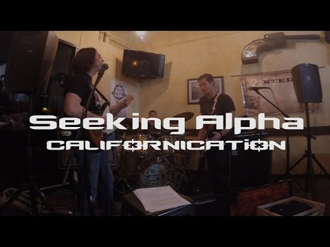 Californication - Red Hot Chili Peppers Cover | Seeking Alpha