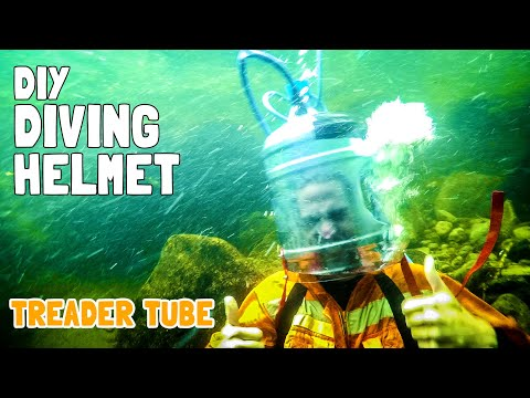 Thumbnail: DIY Scuba Diving Helmet! | Treader Tube