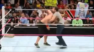 Dean Ambrose - Dirty Deeds Montage (Double arm DDT)