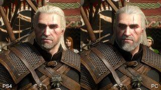 The Witcher 3: PS4 vs PC Comparison