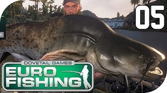 DOVETAIL GAMES EURO FISHING #05 - Riiiiiieeesen Wels :D || Let's Play Euro Fishing || German