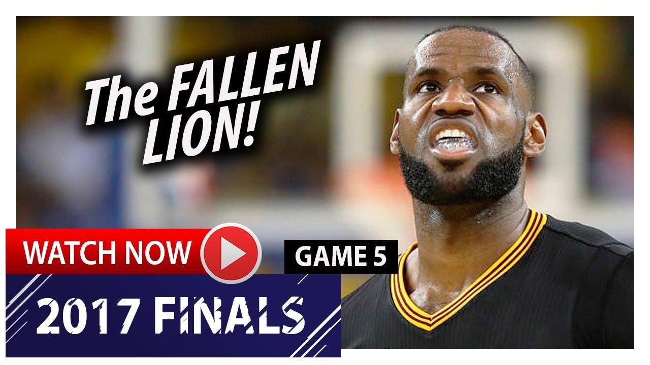 9f8a510e198 LeBron James Full Game 5 Highlights vs Warriors 2017 Finals - 41 Pts ...