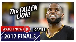 LeBron James Full Game 5 Highlights vs Warriors 2017 Finals - …