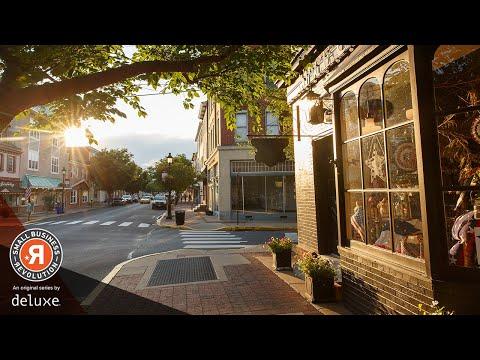 Robert Herjavec & Amanda Brinkman 'Meet Wabash' | Small Business Revolution - Main Street: S1E1