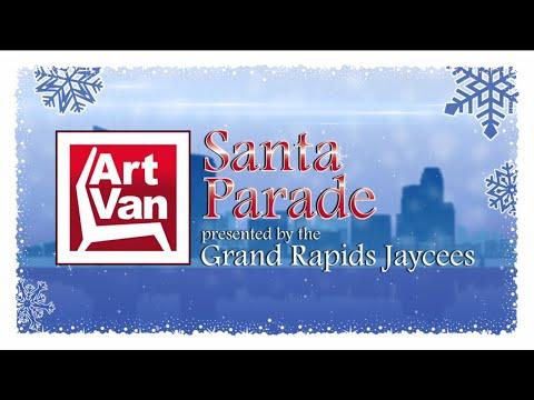 2017 Art Van Santa Parade